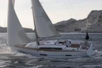 Bareboat sailing yacht charter Dufour 410 Grand Large Maja from Marina Frapa in Rogoznica between Split and Šibenik in Croatia
