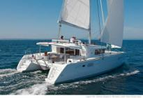 Bareboat catamaran charter Lagoon 450 Luxury Matija from Marina Baotić in Seget Donji near Trogir and Split in Croatia