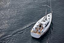 Bareboat sailing yacht charter Elan Impression 40 Janina from Marina Kremik in Primošten near Šibenik in Croatia