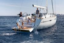 Bareboat sailing yacht charter Bavaria Cruiser 45 from D-Marin Marina Dalmacija in Bibinje - Sukošan near Zadar in Croatia